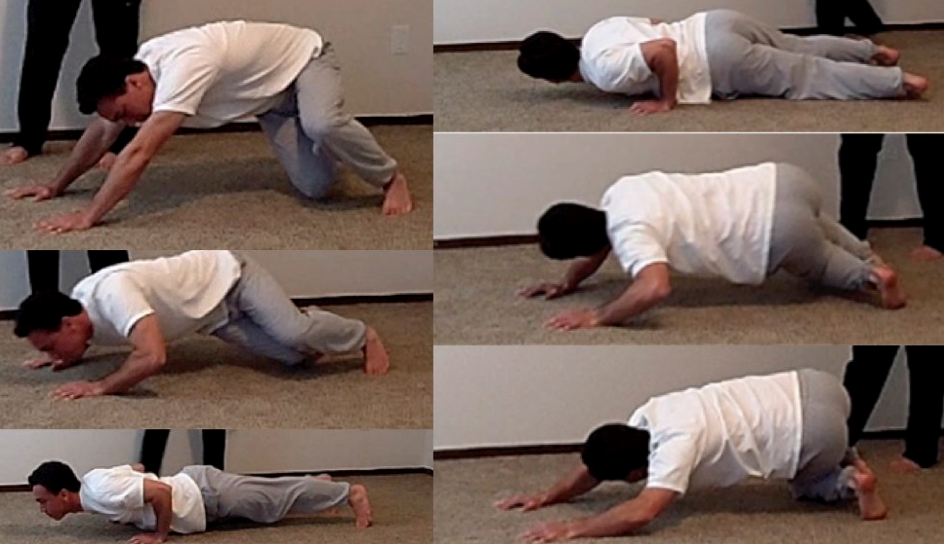 Iranian Twisting Pushup