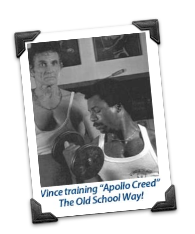 Vince Gironda Training apollo Creed